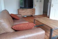Wohnzimmer und Fernseher